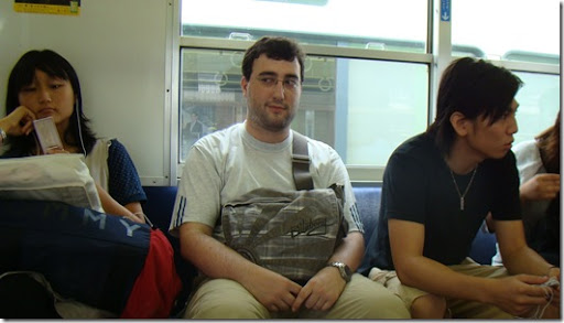 Neki despierto en el tren